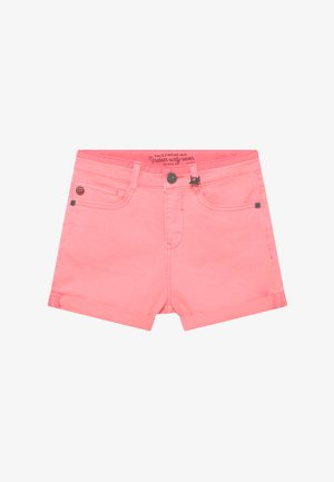 Jeansshort - rosa mexica
