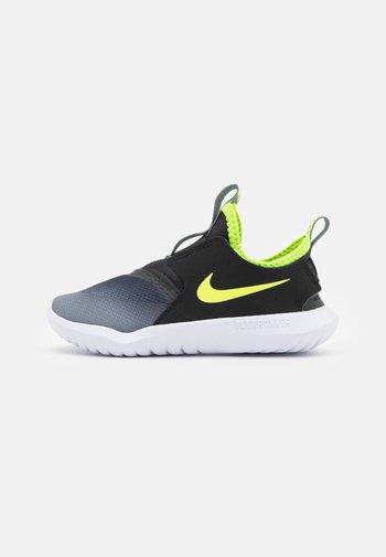 FLEX RUNNER UNISEX - Neutral running shoes - smoke grey/volt/black/white