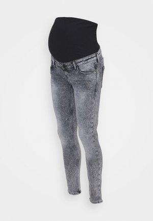 Skinny džíny - grey acid