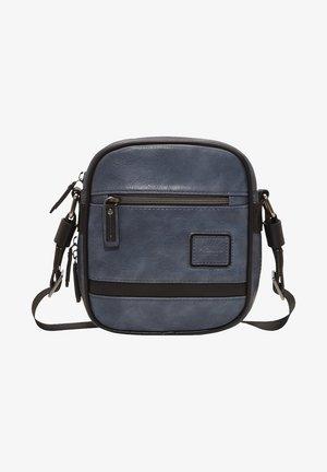 Across body bag - mottled blue