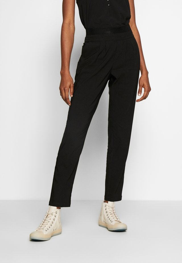 NUALIENA PANT - Spodnie materiałowe - caviar
