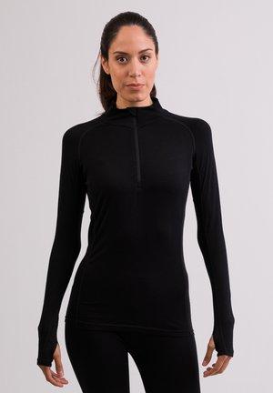 MIT STEHKRA - T-shirt sportiva - schwarz