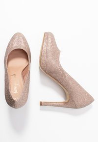 New Look - REIGN - Escarpins à talons hauts - rose gold - 3