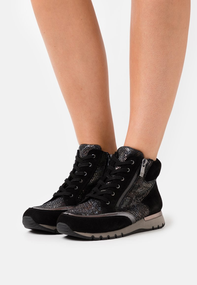 Caprice - High-top trainers - black