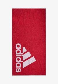 adidas Performance - ADIDAS TOWEL SMALL - Håndkle - red - 0