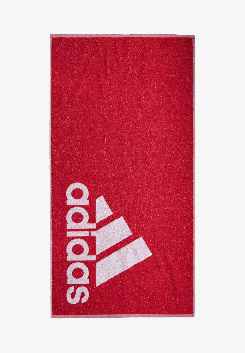 adidas Performance - ADIDAS TOWEL SMALL - Håndkle - red