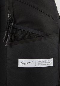 Nike Performance - HOOPS ELITE PRO BACK PACK - Rucksack - black/white - 2