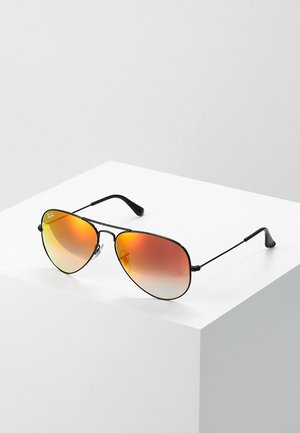 AVIATOR - Sunglasses - mirror gradient redcrystal standard