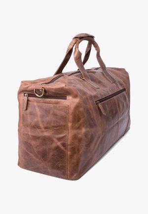 SYDNEY - Weekend bag - mottled light brown