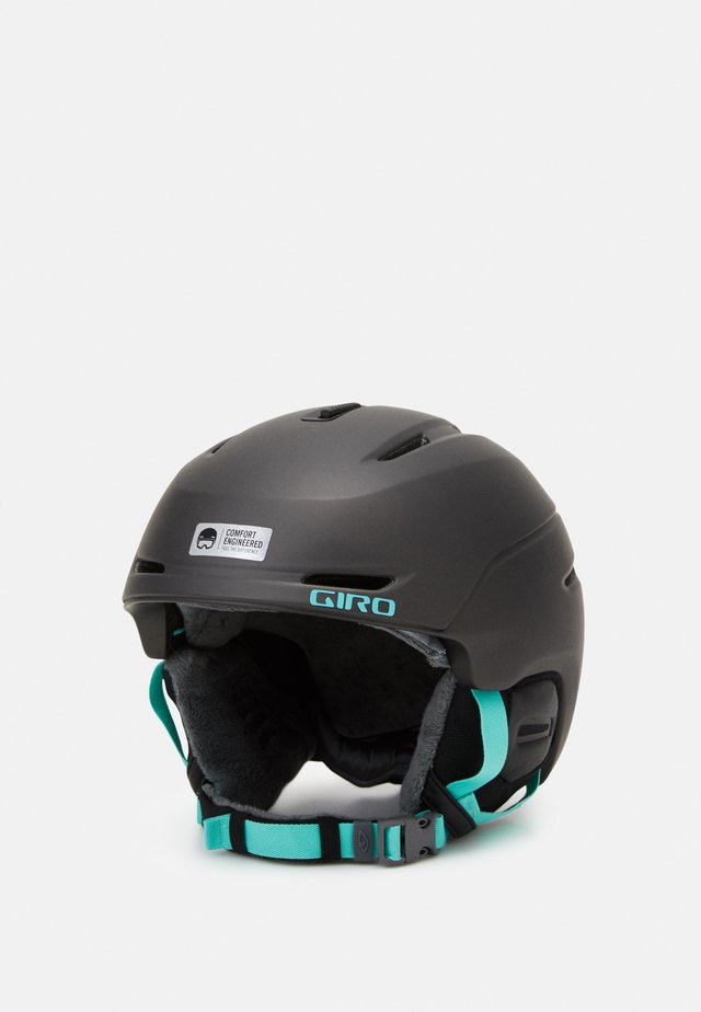 AVERA MIPS - Kask - metallic coal/cool breeze