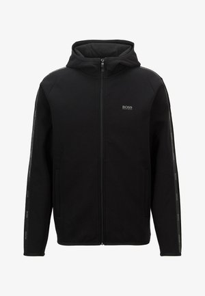 SAGGY 2 - veste en sweat zippée - black