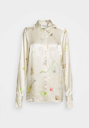 COURTNEY - Button-down blouse - cream