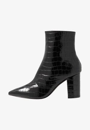 PERFECT POINTY BOOT - Støvletter - black