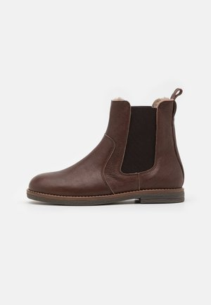 MADIA - Classic ankle boots - coffee