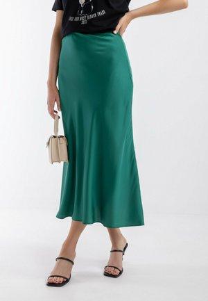 FAUNA - Spódnica trapezowa - green