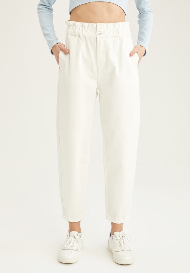 Jeans baggy - white