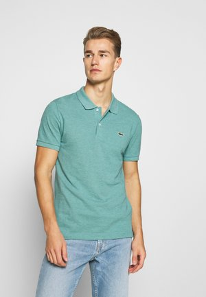 Polo shirt - mottled green