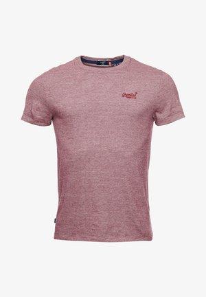 VINTAGE EMBROIDERY  - T-shirt print - deep port feeder