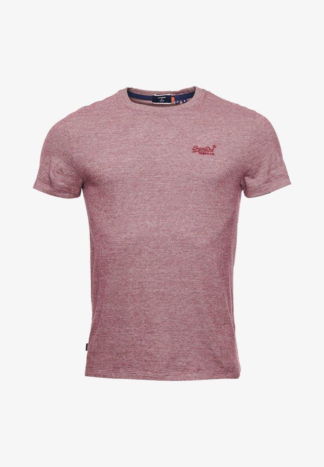 VINTAGE EMBROIDERY  - T-shirt imprimé - deep port feeder
