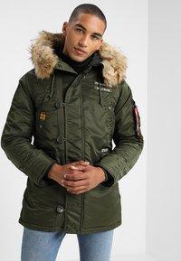 Alpha Industries - AIRBORNE - Winter coat - dark green - 3