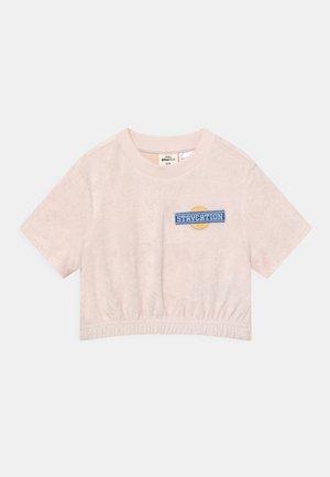 MINI TOWELLING TEE - T-shirt print - delicay