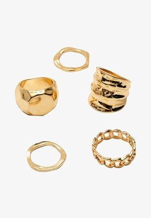 4 SET  - Ring - yellow