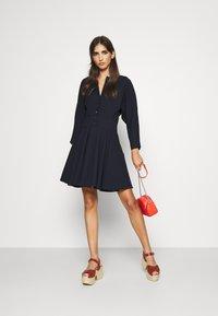 Claudie Pierlot - RAFAELO - Shirt dress - marine - 1