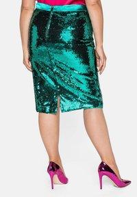 Sheego - Pencil skirt - powergrün - 2
