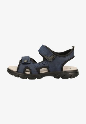 Walking sandals - blue/black