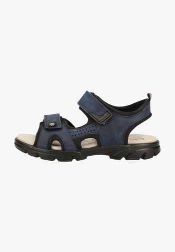 Walking sandals - blue/black