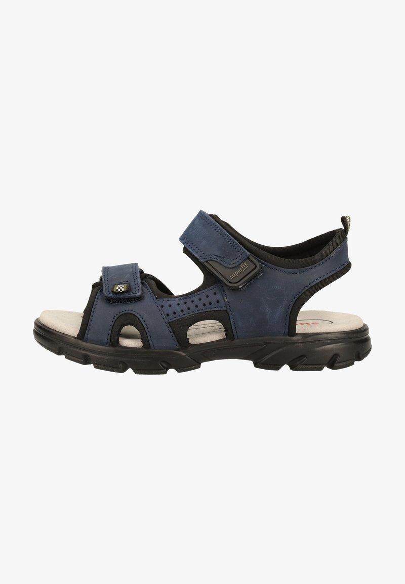 Superfit - Walking sandals - blue/black