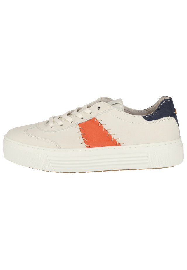 CAMEL ACTIVE SNEAKER - Sneakers laag - white/coral/jeans 01