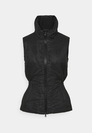 QUINCY VEST - Waistcoat - black