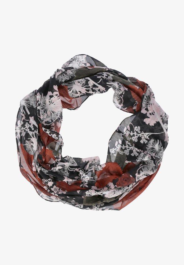 Snood - schwarz-rot-weiß