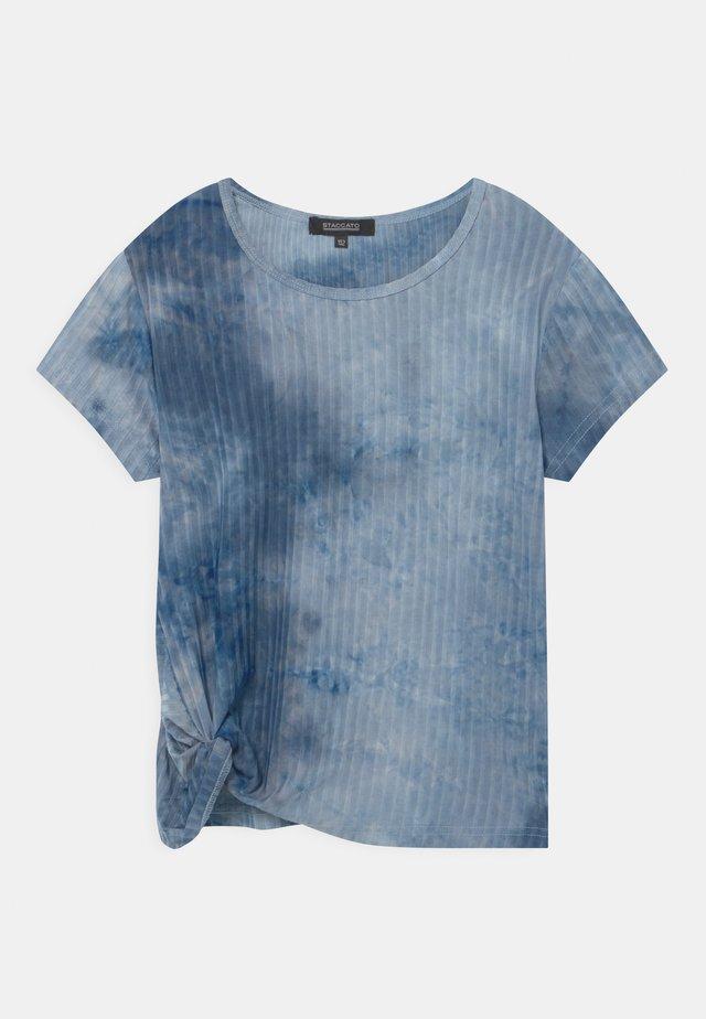 TEENAGER - Triko spotiskem - jeans blue