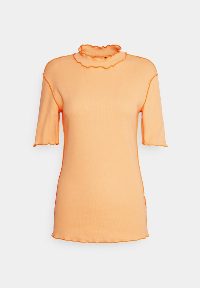 ROSE TEE - Triko s potiskem - peach orange