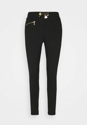 QUALIFY TROUSER - Trousers - black