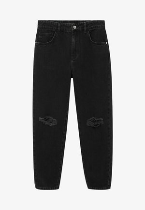 DANNYN - Straight leg jeans - black denim