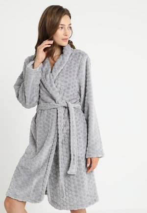 ROBE SHORT HONEYCOMB - Dressing gown - alloy