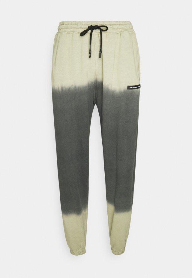 DIP DYE REGULAR UNISEX - Teplákové kalhoty - black