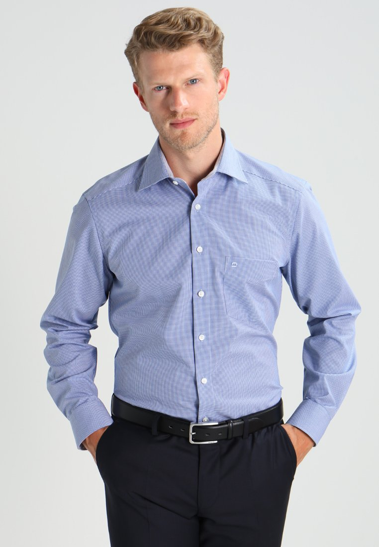 OLYMP Luxor - OLYMP LUXOR - Chemise classique - royal