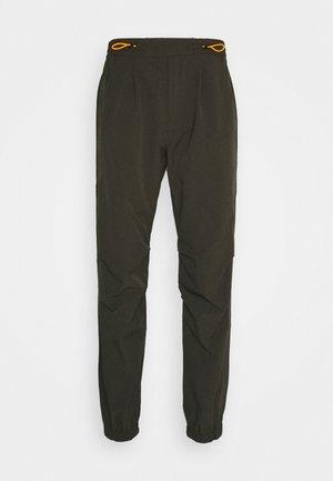 HAJO - Spodnie materiałowe - olive