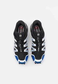 Salomon - SHOES SPEEDCROSS 3 ADV UNISEX - Sneakers basse - black/surf the web/goji berry - 3