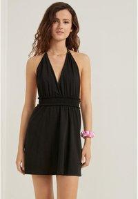 Tezenis - Jersey dress - nero - 0
