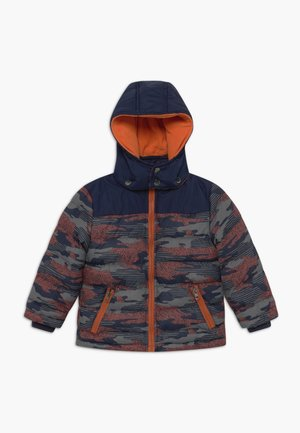 KIDS CAMOUFLAGE - Winter jacket - blau