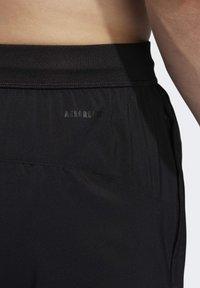 adidas Performance - 4KRFT 3-STRIPES 9-INCH SHORTS - Sports shorts - black - 4