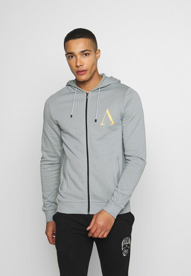 HOODIE  - Zip-up hoodie - grey