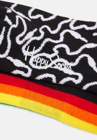 Happy Socks - WIRE 3/4 CREW SOCK COLOUR STRIPE 3/4 CREW SOCK UNISEX 2 PACK - Socks - multi-coloured - 1
