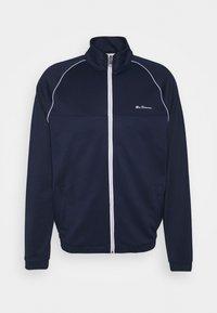TRICOT ZIP THROUGH - Training jacket - marine