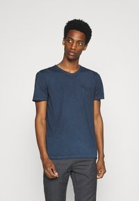 Marc O'Polo - Basic T-shirt - total eclipse - 0